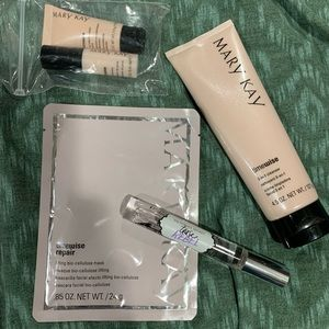 Mary Kay cleanser & mask
